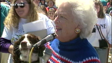 Archives: Barbara Bush and Millie