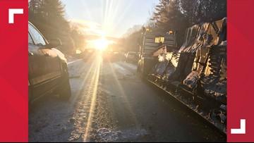 'Blinding sun' blamed for massive 30-car pileup on I-95 in Carmel on Tuesday