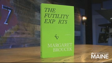 Margaret Broucek's 'The Futility Experts' wins Maine literary award for fiction