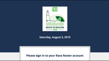 Speed up Beach to Beacon registration by creating account now