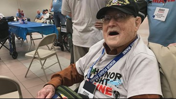 102-year-old veteran among  Mainers kicking off Honor Flight Maine's biggest year yet