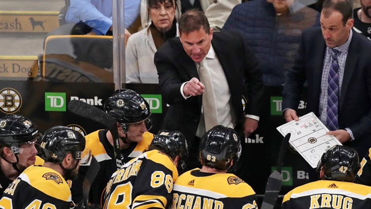 Bruins put faith in Cassidy to win the Cup after last year's near miss