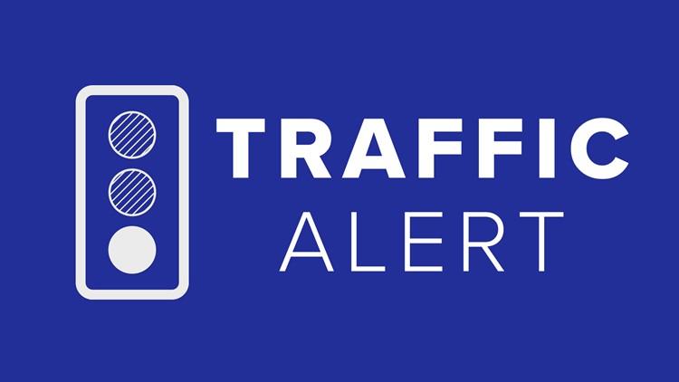 I-95 crash involving tractor-trailer in median blocks multiple lanes in Arundel