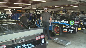 Austin Theriault prepares for first NASCAR cup series race