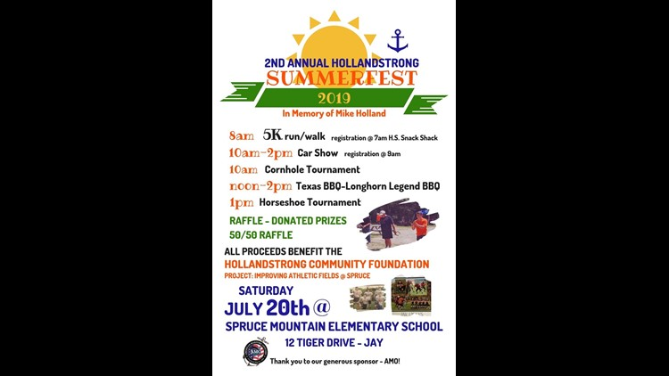 HollandStrong SummerFest activities