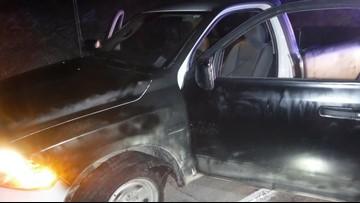 Paint job on stolen U-Haul doesn't fool police