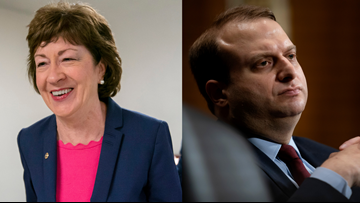Collins first Republican to oppose Trump's controversial nomination of Steven Menashi