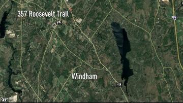 Two hurt in three-vehicle crash in Windham