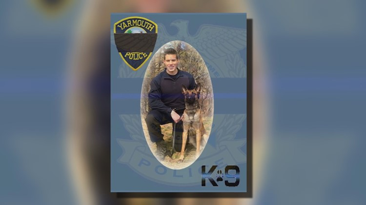 Slain Mass. officer's K-9 back on his feet