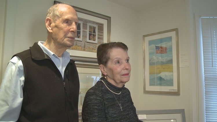 Former President George H. W. Bush and First Lady Barbara Bush bought their first piece of art at W Robert Paine Gallery in 1981. Bob and Evelyn Paine, gallery owners, have become good friends with the Bush family since then.
