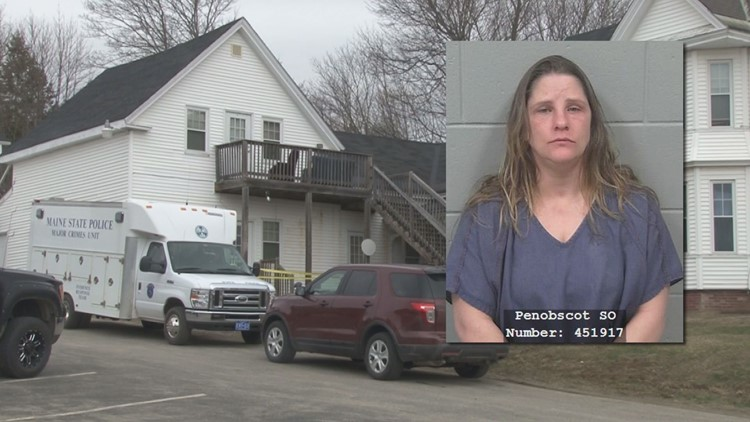 The victim of a stabbing in Hampden remains in critical condition as the woman charged with attempted murder is set to make her first court appearance Tuesday