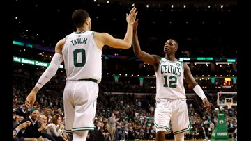 Celtics' youth prevails over 76ers' to take Game 1