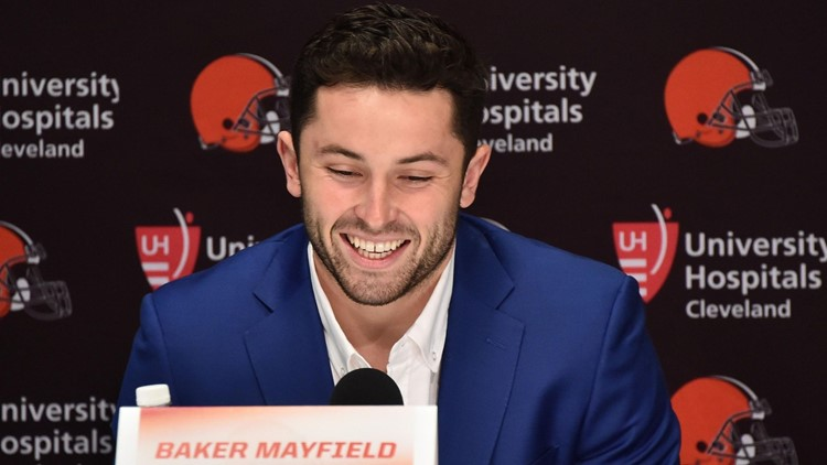 Patriots Discussed Trading Up For Baker Mayfield