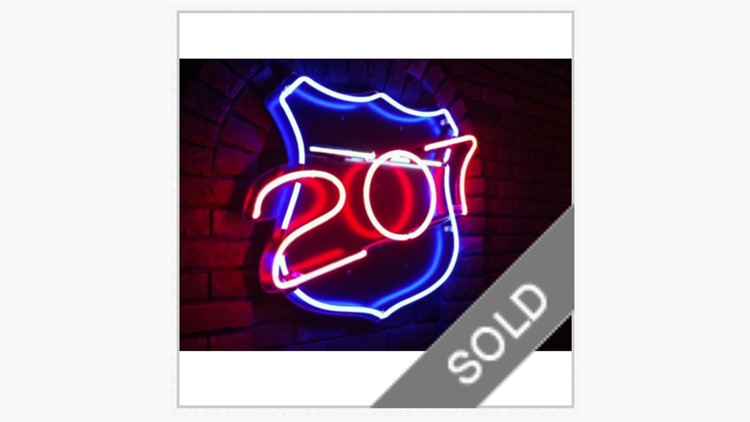 SOLD: You could own the '207' sign