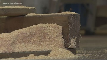 Using sawdust to replace fossil fuels