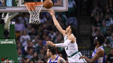 Tatum ices 76ers with clutch free throws