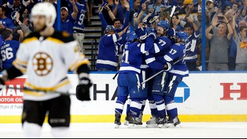 Bruins reach end of the line in Round 2, Game 5
