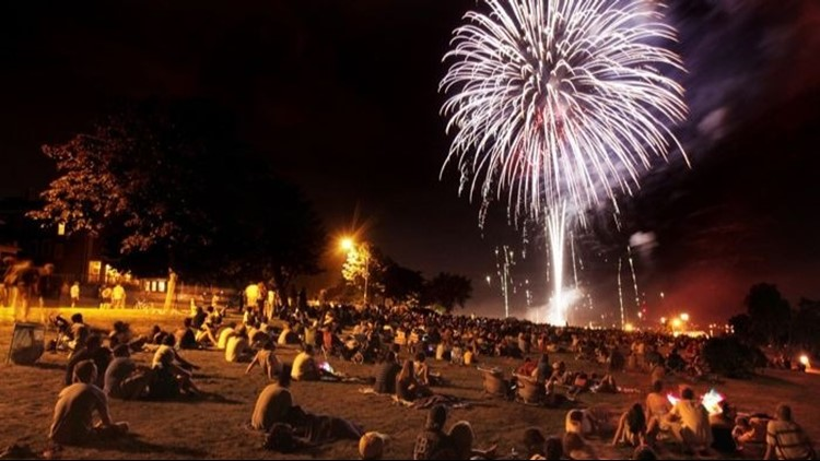 Where to watch fireworks this 4th of July in Maine