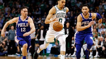 Celtics knock out 76ers, will meet Cavs in Eastern Conference finals for second straight year