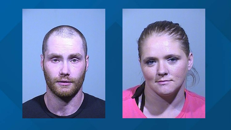 Two arrested, charged with stealing cans collected for cancer