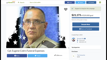 Money being raised to cover unexpected $20K bill at deputy's funeral