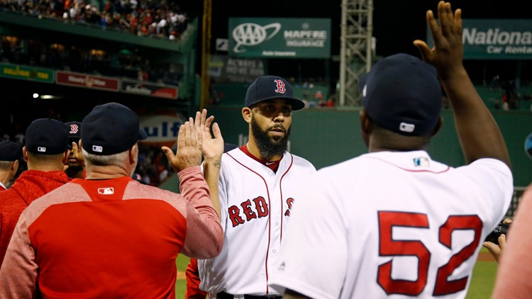 The Red Sox had already established a solid lead by the time David Price allowed the Orioles to score their first runs in the ninth inning