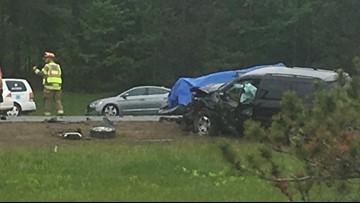Man dies, several injured in I-295 crash in Freeport