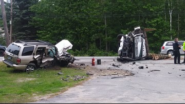 Alcohol believed to be factor in 3-vehicle crash in Windham