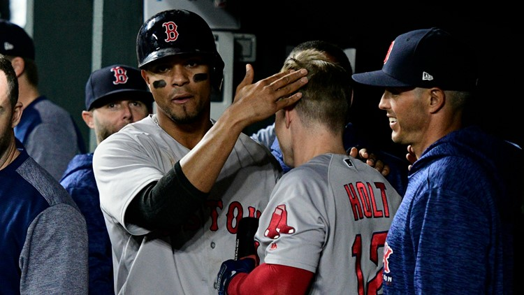 Long after both starters departed, a pitching duel between Dylan Bundy and Steven Wright was ultimately decided 2-0 in the Red Sox's favor