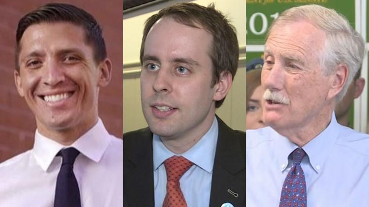 Republican State Sen. Eric Brakey and Democrat Zak Ringelstein ran unopposed.