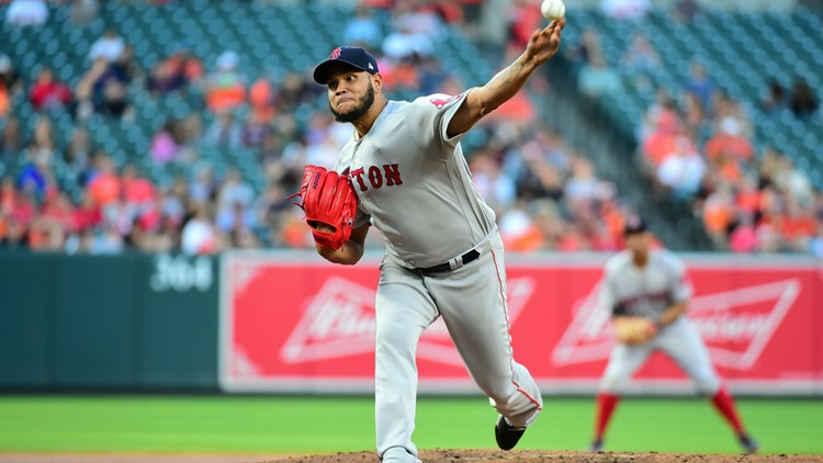 The Red Sox are 12-1 in starts by Eduardo Rodriguez, including 5-0 on the road