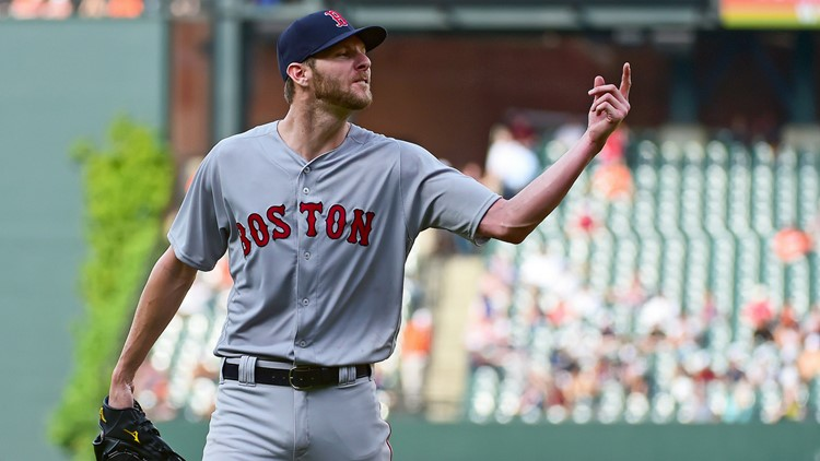 On his way to the dugout, Chris Sale yelled at the home plate umpire and was promptly ejected