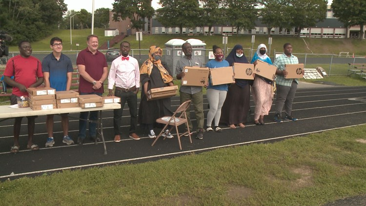 Auburn high school alum donates Chromebooks to immigrant students