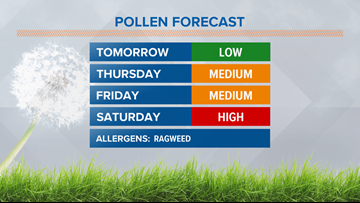 Wheezing and sneezing? How much longer will allergy season persist?