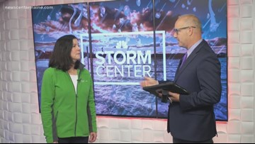 CMP interview, talking outages during during storm