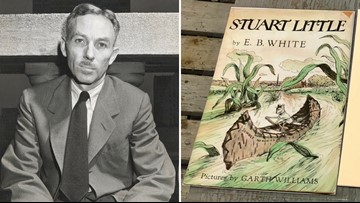 Readers go big for birthday of 'Stuart Little' writer
