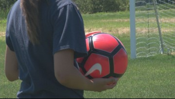 Looking for future soccer stars in Bangor
