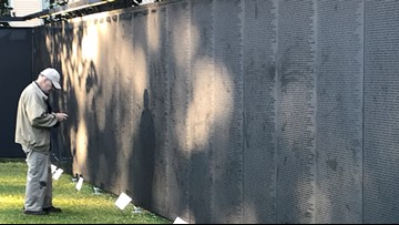 Vietnam Memorial 'Wall That Heals' replica now in Maine on only state stop