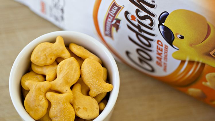 Pepperidge Farm Is Recalling 4 Kinds of Goldfish Crackers