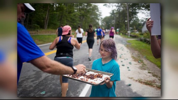 The Beach to Bacon: a runner's atypical treat waiting at mile five
