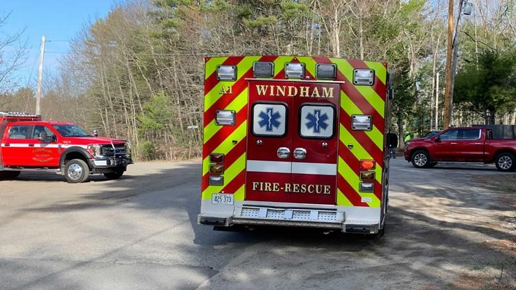 Road in Windham closed, police on scene