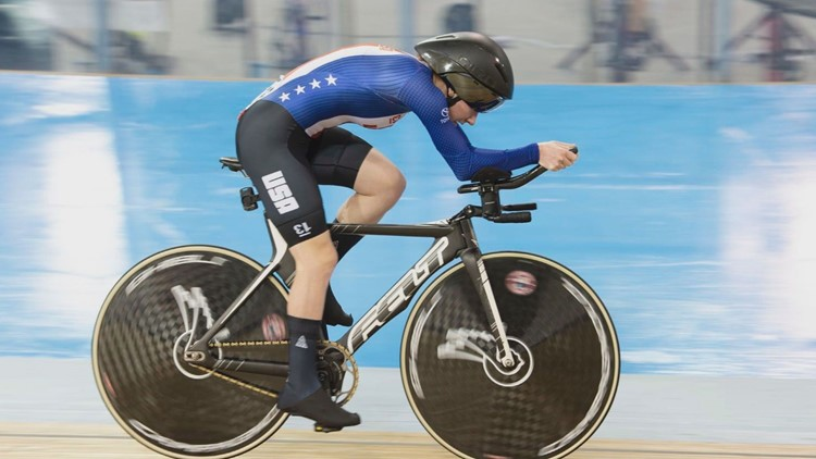 Para-cyclist from Maine prepares for Tokyo games