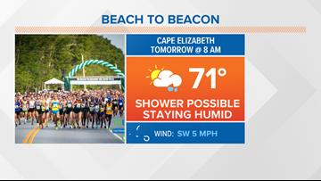 Racing raindrops at the TD Beach to Beacon? | CORY'S BLOG