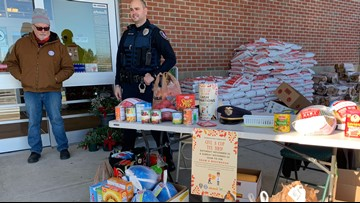 'Give a cop the bird' fundraiser benefits families in need