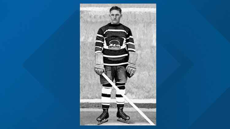 By scoring three goals against Toronto on Feb. 13, 1926, Hago Harringon became the first American player to record a hat trick