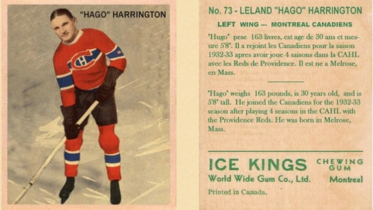 Hago Harrington with Canadiens