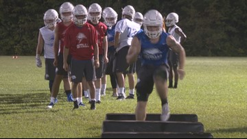 UNE football kicks off first varsity season