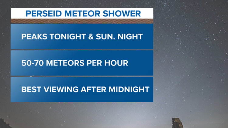 Will You Be Able to See the Perseid Meteor Shower This Weekend?