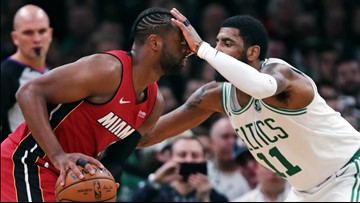 Celtics hand Dwyane Wade a plaque and a loss in his final visit to Boston