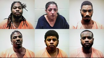 6 arrested in Lewiston area on drug-related, weapon charges
